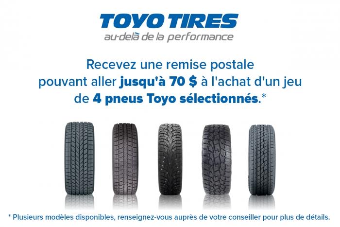 Pneus d'hiver Toyo Tires